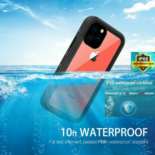 Redpepper Professional Waterproof Dot Series Case For iPhone 12 Pro Max Blue