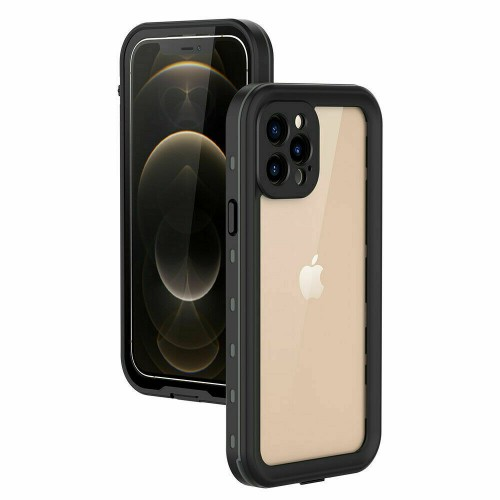 Redpepper Professional Waterproof Dot Series Case For iPhone 12 Black