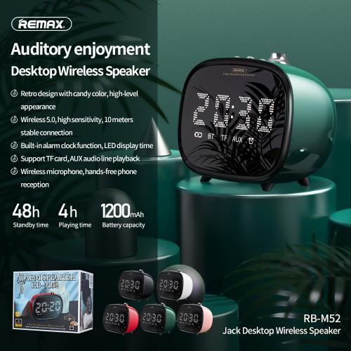 REMAX RB-M52 Accord Desktop Bluetooth Speaker Black
