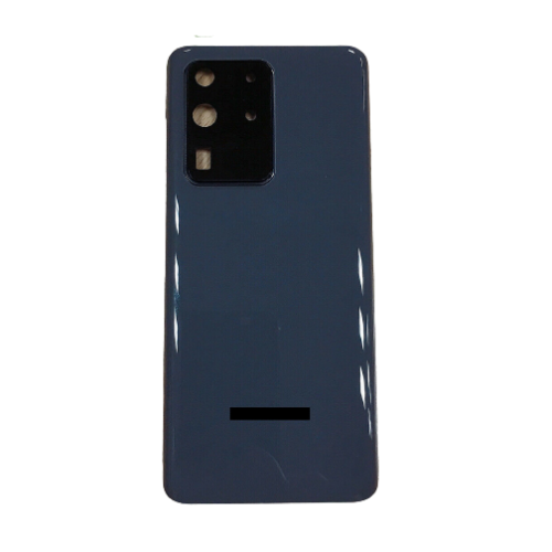 For Samsung Galaxy S20 Ultra/5G Rear Glass Battery Back Cover Replacement+Camera Grey