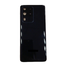 For Samsung Galaxy S20 Ultra/5G Rear Glass Battery Back Cover Replacement+Camera Black