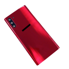 For Samsung Galaxy Note 10/5G N970F/DS-Rear Glass Battery Back Cover Replacement Red