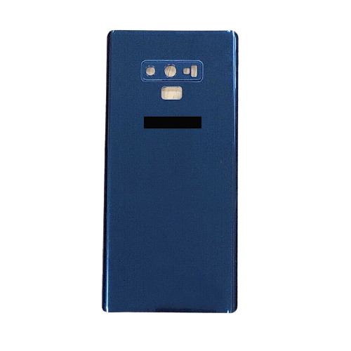 For Samsung Galaxy Note 9 Rear Glass Battery Back Cover Replacement+Camera Lens Blue