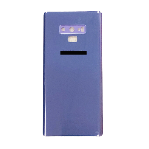 For Samsung Galaxy Note 9 Rear Glass Battery Back Cover Replacement+Camera Lens Purple