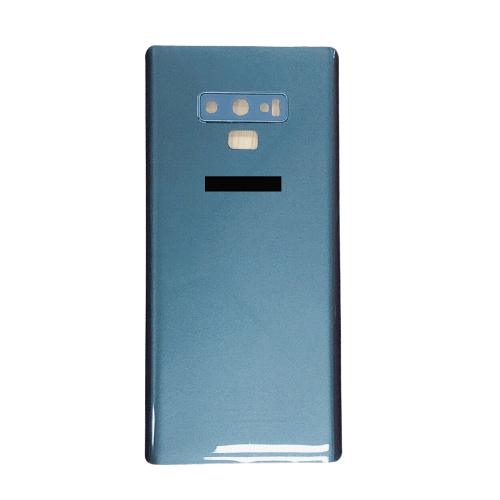 For Samsung Galaxy Note 9 Rear Glass Battery Back Cover Replacement+Camera Lens Grey
