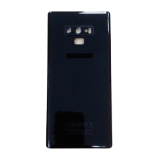 For Samsung Galaxy Note 9 Rear Glass Battery Back Cover Replacement+Camera Lens Black