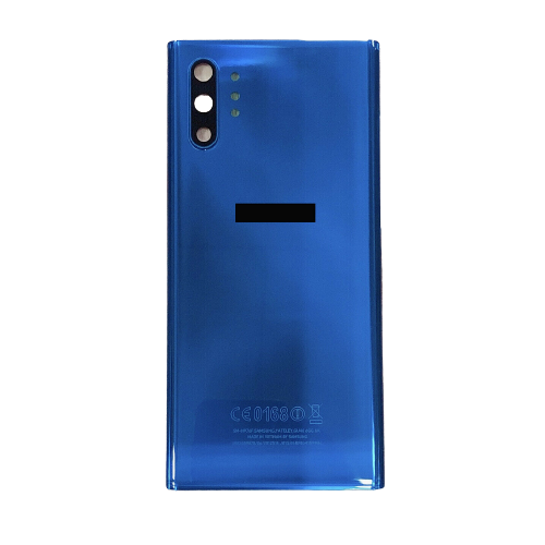 For Samsung Galaxy Note 10+ Plus/5G Rear Glass Battery Back Cover Replacement Blue