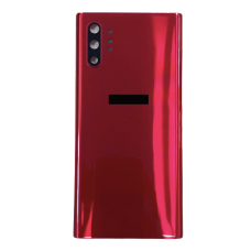 For Samsung Galaxy Note 10+ Plus/5G Rear Glass Battery Back Cover Replacement Red
