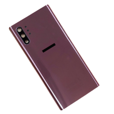 For Samsung Galaxy Note 10+ Plus/5G Rear Glass Battery Back Cover Replacement Purple