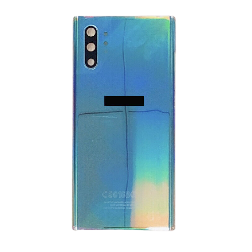 For Samsung Galaxy Note 10+ Plus/5G Rear Glass Battery Back Cover Replacement Aurora