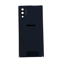 For Samsung Galaxy Note 10+ Plus/5G Rear Glass Battery Back Cover Replacement Black