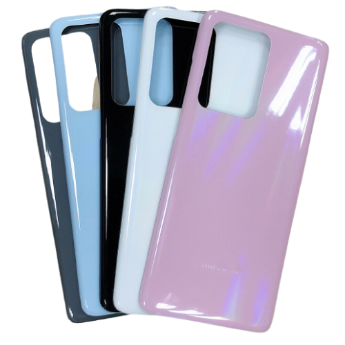 For Samsung Galaxy S20 Ultra/5G Rear Glass Battery Back Door Cover Replacement Blue