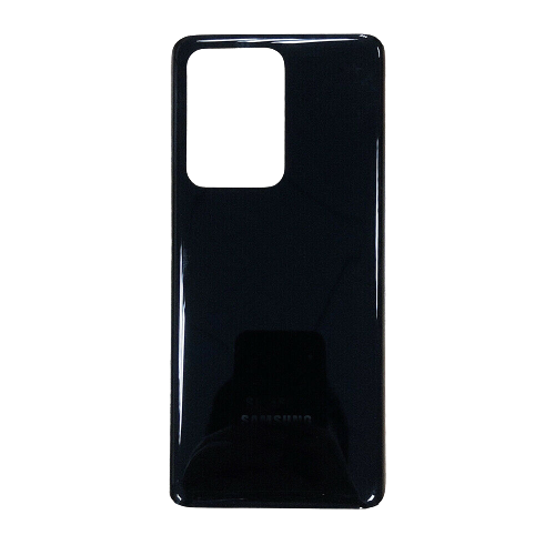 For Samsung Galaxy S20 Ultra/5G Rear Glass Battery Back Door Cover Replacement Black