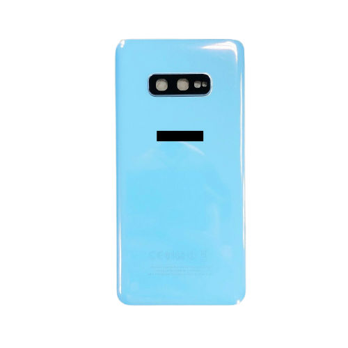 For Samsung Galaxy S10e G970F Rear Glass Battery Back Housing Cover+Camera Lens Prism White