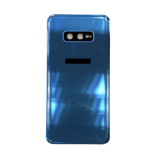 For Samsung Galaxy S10e G970F Rear Glass Battery Back Housing Cover+Camera Lens Blue