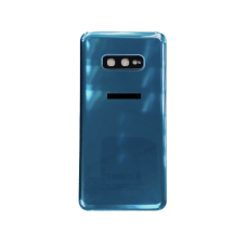 For Samsung Galaxy S10e G970F Rear Glass Battery Back Housing Cover+Camera Lens Green