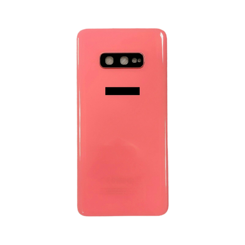 For Samsung Galaxy S10e G970F Rear Glass Battery Back Housing Cover+Camera Lens Orange