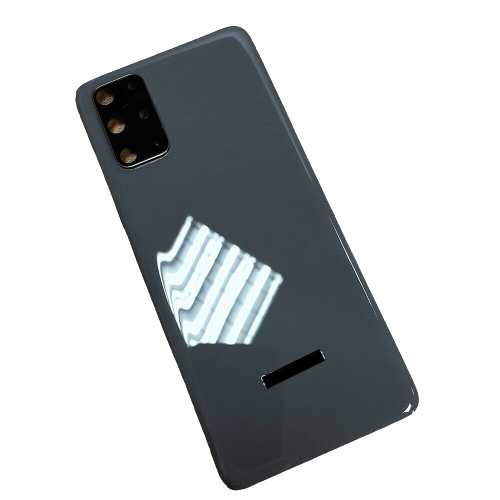 For Samsung Galaxy S20/5G Rear Glass Battery Back Door Housing Cover+Camera Lens Grey