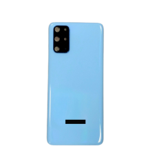 For Samsung Galaxy S20 Plus /5G Rear Glass Battery Back Housing Cover+Camera Blue