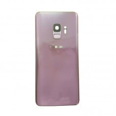 For Samsung Galaxy S9/S9+ plus Rear Glass Battery Back Door Cover Housing+Camera Purple