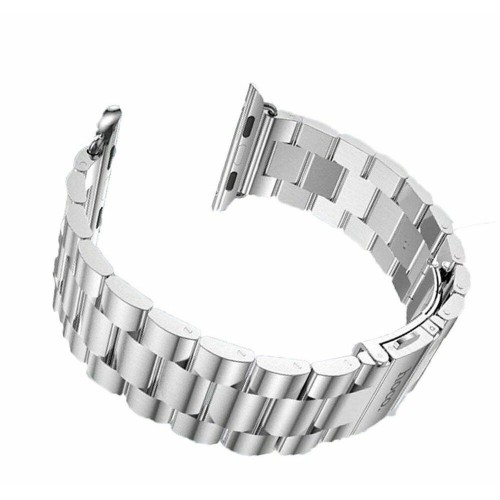 Hoco Stainless Watch Band Strap with Classic Buckle for Apple Watch 42 mm Silver