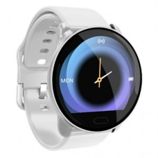 Smart Watch Tracker Fitness Blood Pressure Heart Rate For Android iOS Waterproof White