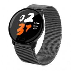 Women Waterproof Smart Watch Fitness Tracker Blood Pressure Heart Rate Monitor Black