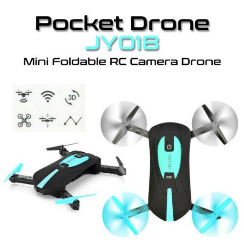 JY018 Mini Small Foldable Pocket Drone Wifi FPV Camera App Control RC Quadcopter