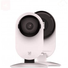 YI Smart Security Camera 1080p Wifi Home Indoor Camera with AI Human detection/ Night vision/Activity alerts/Cloud/micro SD card storage White