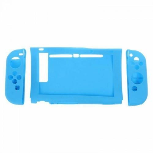 Silicone Anti-Slip Protective Skin Cover For Nintendo Switch Joy-Con Controller Blue