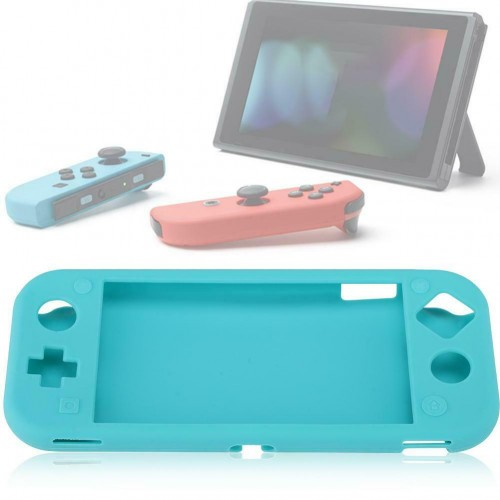 Silicone Case for Nintendo Switch lite Soft Full Body Shock Protective Cover UK Blue