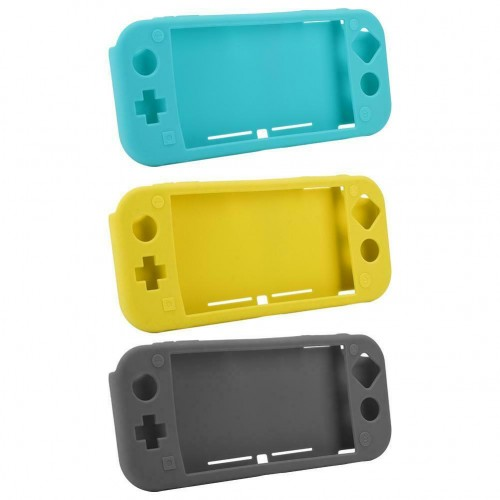Silicone Case for Nintendo Switch lite Soft Full Body Shock Protective Cover UK Grey