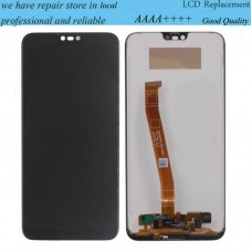 OEM For Huawei Honor 10 COL-L29 LCD Display Touch Screen Replacement + Fingerprint Black
