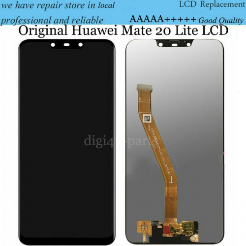 For Huawei Mate 20 Lite LCD Display Touch Screen Digitizer Replacement Black