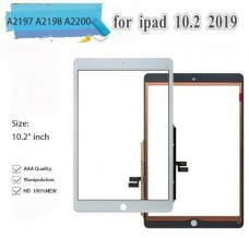 """For iPad 7th Gen 10.2"""" A2197 A2198 A2200 Touch Screen Glass Digitizer White"""
