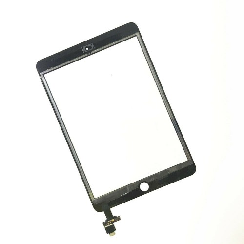For iPad Mini 3 A1599 A1600 Touch Screen Digitizer Glass Replacement Genuine IC Black
