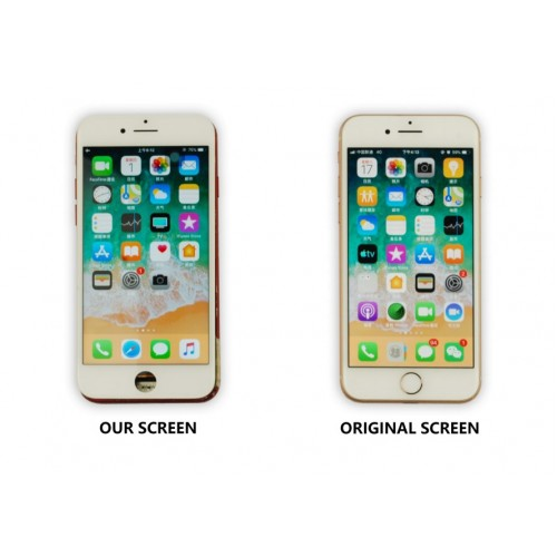 MP⁺ iPhone 7 Plus Replacement LCD Touch Screen White