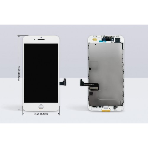 MP⁺ iPhone 8 Plus Replacement LCD Touch Screen White