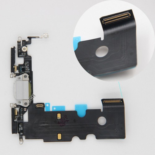 """iPhone 8 """"4.7""""Charging Port Connector Replacement Microphone Flex Cable"""