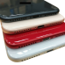 For iPhone 8 Plus Metal Frame Back Chassis Housing Rear Glass Cover Replacement Red