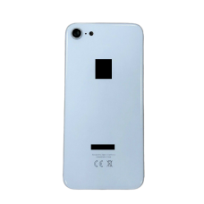 For Apple iPhone 8 Metal Frame Back Chassis Housing Rear Glass Cover Replacement White