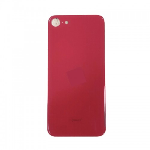 Big Hole-Rear Glass Battery Back Cover Replacement For iPhone SE 2 2020 Red