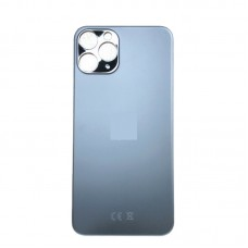 Big Hole-Rear Glass Battery Back Cover Housing Replacement For iPhone 11 Pro Max Grey