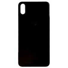 Big Hole-Rear Glass Battery Back Cover Replacement For iPhone X Black