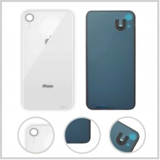Big Hole-Rear Glass Battery Back Cover Housing Replacement For iPhone XR White