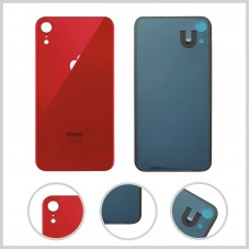 Big Hole-Rear Glass Battery Back Cover Housing Replacement For iPhone XR Red