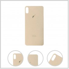 Big Hole-Rear Glass Battery Back Cover Housing Replacement For iPhone XS Max Gold