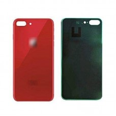 Big Hole-Rear Glass Battery Back Cover Housing Replacement For iPhone 8 Plus Red