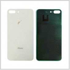 Big Hole-Rear Glass Battery Back Cover Housing Replacement For iPhone 8 Plus White