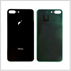 Big Hole-Rear Glass Battery Back Cover Housing Replacement For iPhone 8 Plus Black